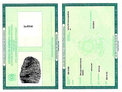 carteira de identidade salvador